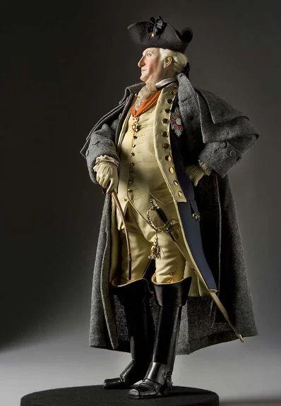 Friedrich Wilhelm von Steuben - Trained Washington's army, became lifelong friend.