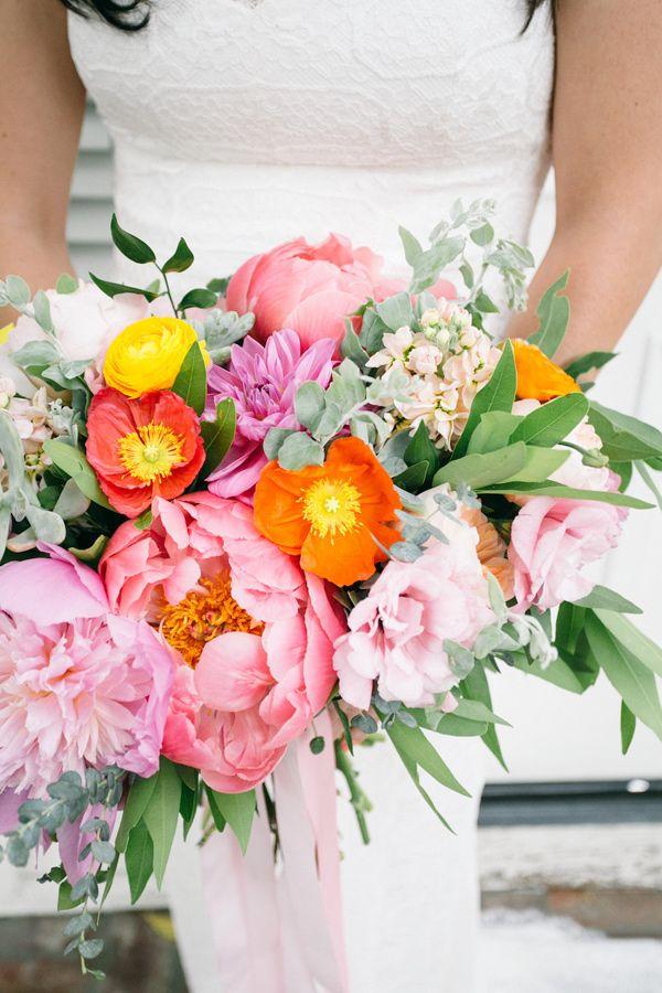 Fresh And Colorful Lombardi House Wedding