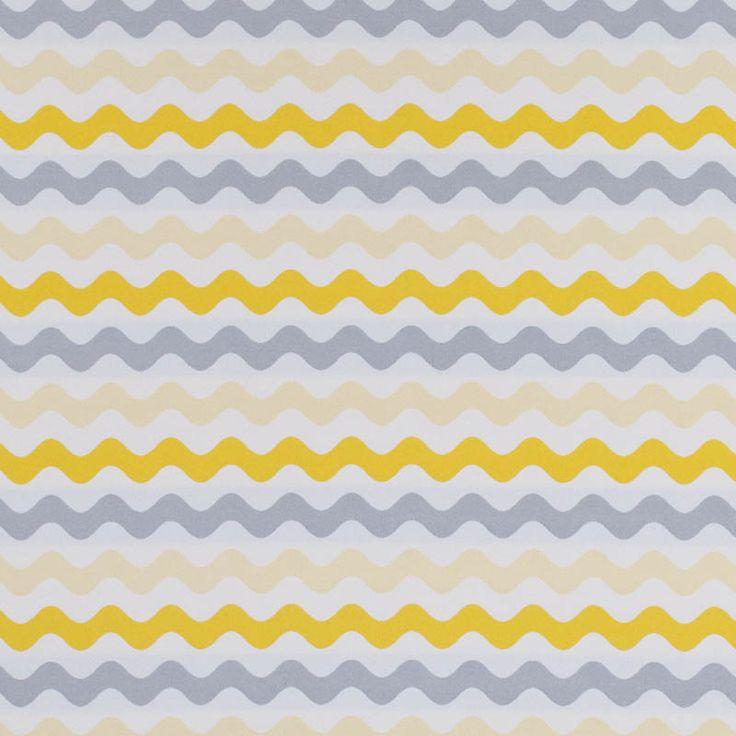Warwick Fabrics : MERIMBULA, Colour SUNSHINE