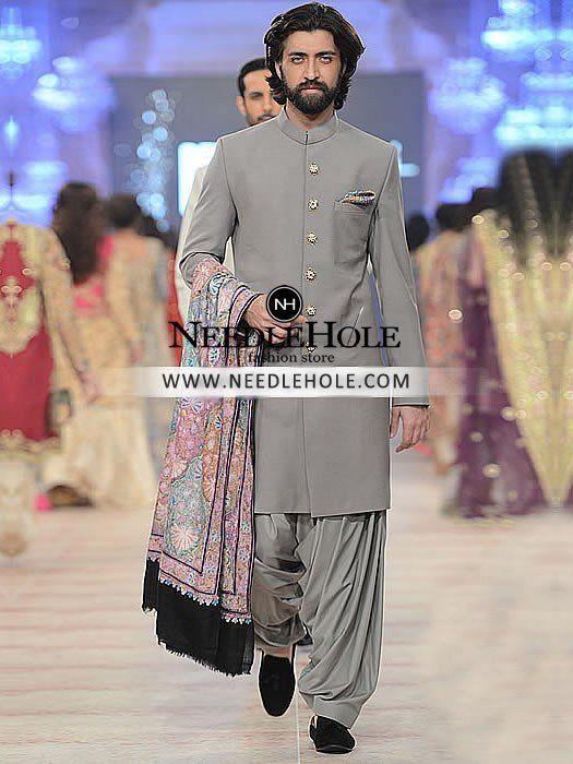 Shop Zara Shahjahan Sherwani Suit Groom Collection. Buy Classic Mens Sherwani Suit On Your Big Day, Choose Wedding Sherwani Dress For Men at Needlehole.com