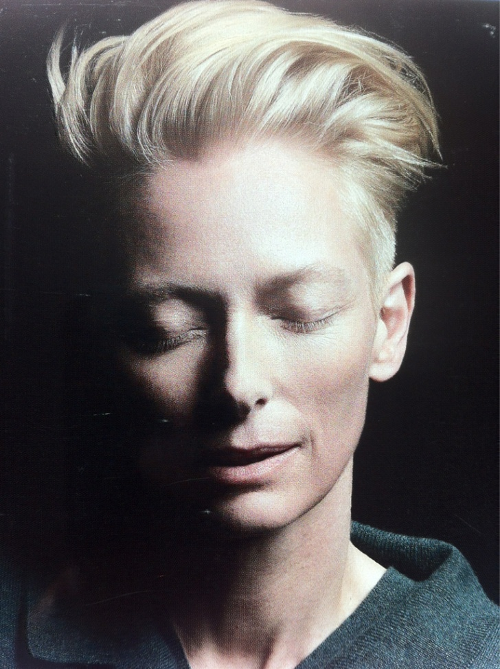 Tilda Swinton photographed by Milan Vukmirovic