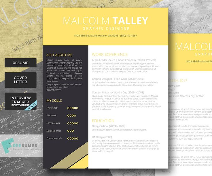 65 Resume Templates for Microsoft Word [Best of 2019