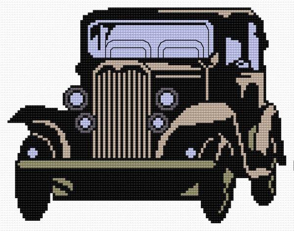 Car 2 (car, wheel, lamps, vehicle)