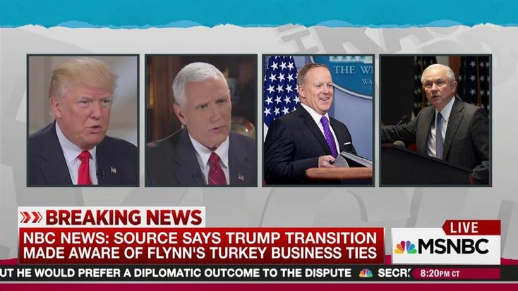 Rachel Maddow reports a scoop from NBC News that the Donald Trump transition team and the White House did do a background check on Mike Flynn. Also, a source tells NBC News they were aware of Flynn's business ties to Turkey, but hired him to be Trump's national security advisor anyway.