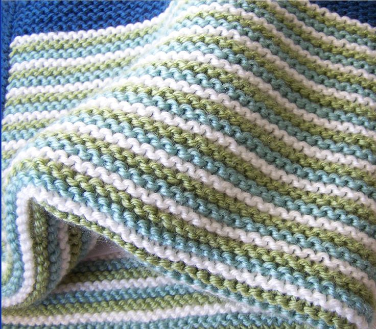 Knitting Quilt Stitch : Baby blanket garter stitch knitting yarn pinterest