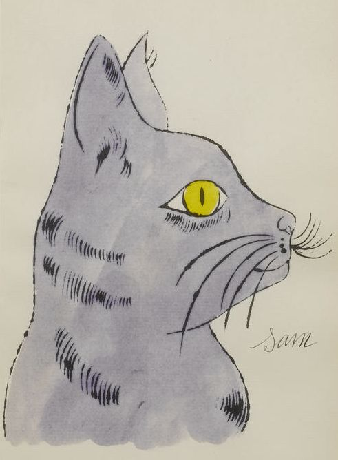 By Andy Warhol (1928-1987), 1954,  '25 Cats Name(d) Sam and One Blue Pussy'.