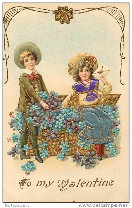 2206 best vintage valentine images on Pinterest  Free printables