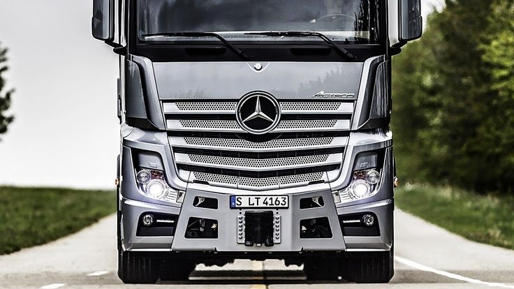 2019 Mercedes Benz ACTROS – The Most Hi-Tech Truck Ever!!! #technology #cars #trucks #travel #transportation