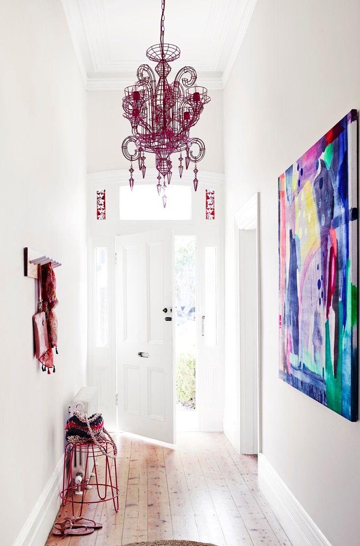 Hallway Interior - Get the Look, Dulux Paints #whiteexchangehalf #lexiconhalf