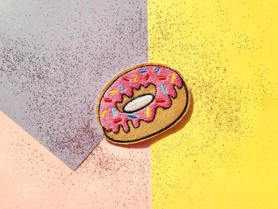 Patch écusson donut
