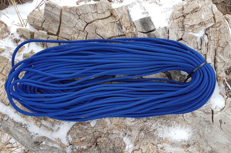 550 Paracord Type III 7 Strand Nylon Parachute Cord Made in the USA Military Spec Parachute Cord Diamond Blue by BrodsParacord on Etsy
