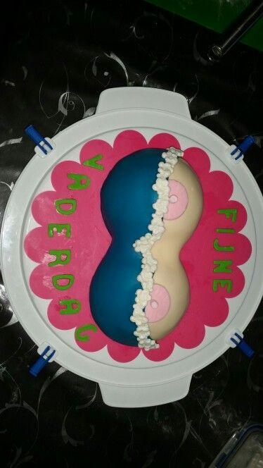 Vaderdag borsten taart.