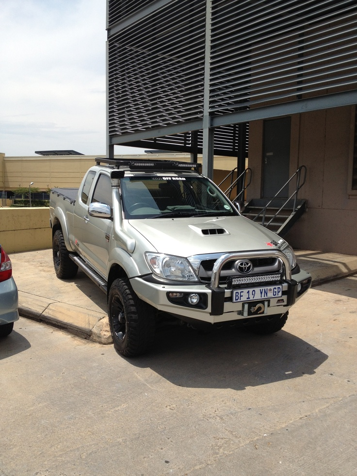 Toyota Hilux Lookin Mint I Want One Bad Toyota Hilux