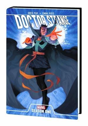 Greg Pak's Doctor Strange Season One is out this week!