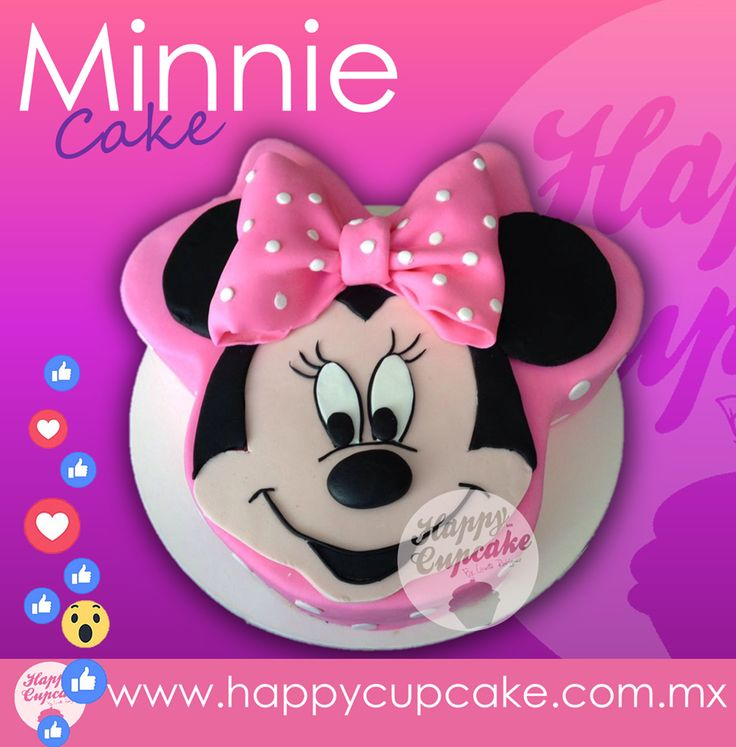 #MinnieCake  #HappyCupcake