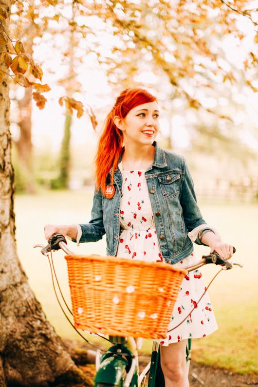 The Clothes Horse: Outfit: I Want To Ride My Bicycle