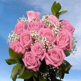 Dozen Roses Pink - $77.00  www.teelieturner.com #ValentinesDay