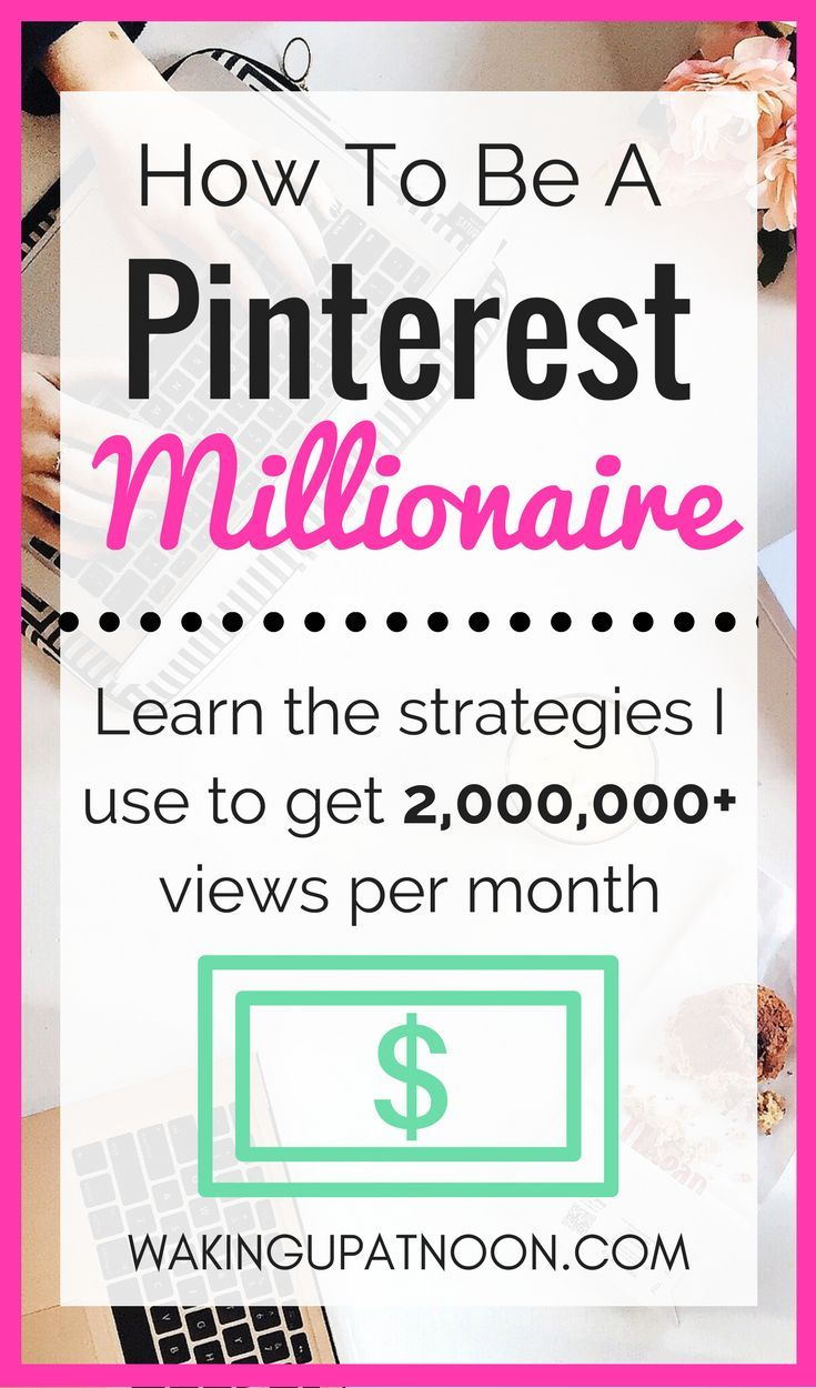 How to get millions of views on Pinterest and get traffic to your blog in my course pinterest millionaire! Tips and advice on how to use pinterest and grow your blog for beginners and pros. #pinterest #blogging #howtousepinterest #pinteresttips #pintereststrategies #bloggingforbeginners #bloggrowth #bloggers