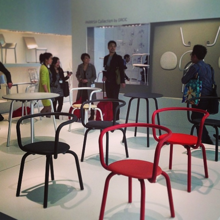 Constantin Grcic for Emeco. Salone del Mobile. #salone2013 #salonemilan #hauteliving #designweek