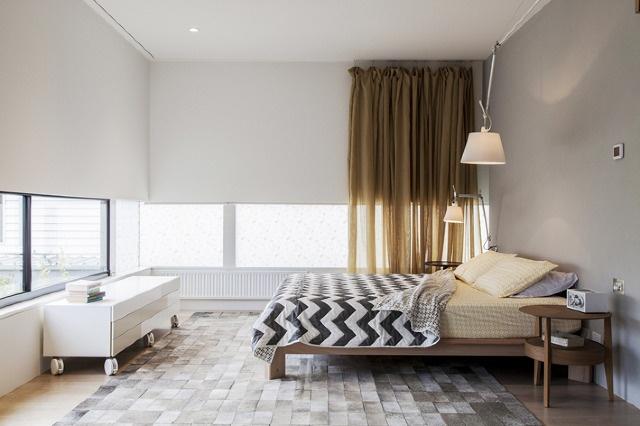 baker residence - luxe bedroom