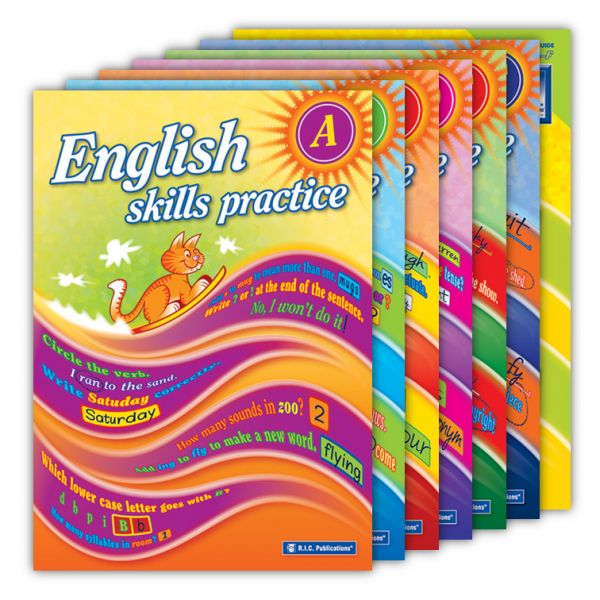English Skills Practice. English skills practice is a series of six workbooks linked to the requirements of the Australian National Curriculum for each stage of primary school.  http://www.educationstore.com.au/catalogue/english/english-skills-practice
