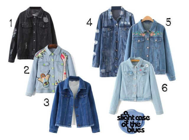 """""""May Crush: Denim Jackets"""" by thebearg on Polyvore"""