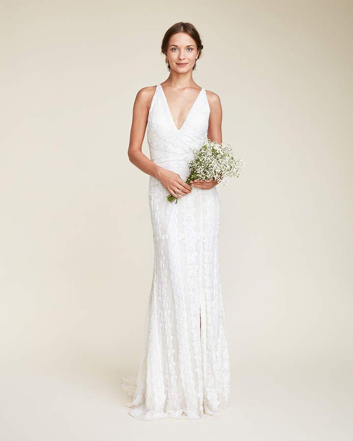 Bianca Bridal Gown #nicolemiller #ad | Simple Wedding Dresses in