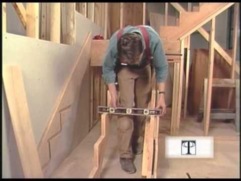 Строительство лестниц. Основы мастерства. Basic Stairbuilding Профессиональный столяр Scott Schuttner покажет Вам, как быстро и правильно сделать лестницу, произвести точную разметку, правильно подготовить и установить различные элементы лестницы.