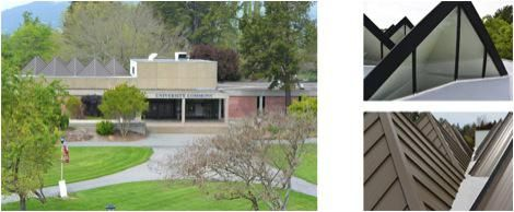 Spray Foam Roofing Sonoma County. Spray Foam Roof and Cool Roof Coating on the Wine Business Institute building at #Sonoma State University in Cotati, California www.wedgeroofing.com #roofing #SonomaCounty