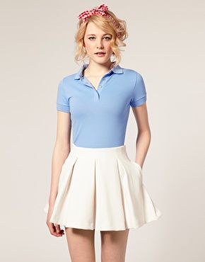 25 best ideas about polo shirt outfits on pinterest for Womens school uniform shirts
