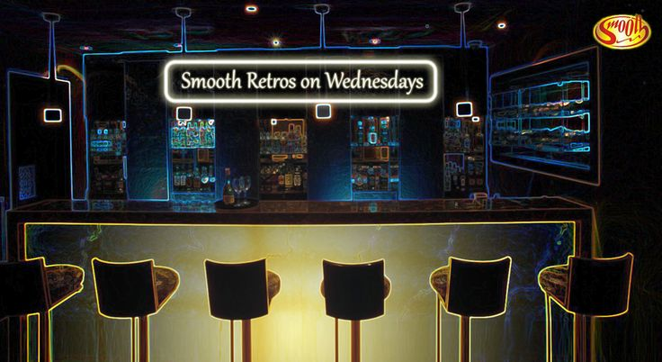 Smooth spirits, the fabulous beats of retro music, lively conversations with friends over the hum of tinkering glasses and the celebration of all that Life is, all that friends are for…. That's how Retro Wednesdays will be at Smooth, the resto bar, only at The Shalimar.