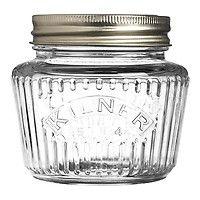 Vintage konserveringsburk 0.25 L