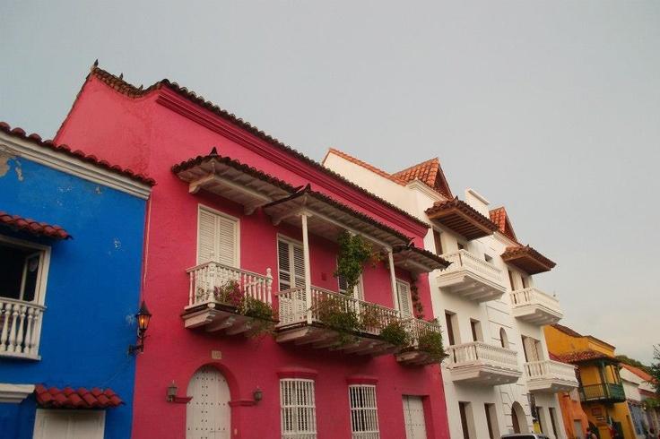 Cartagena, casco antiguo y colorido