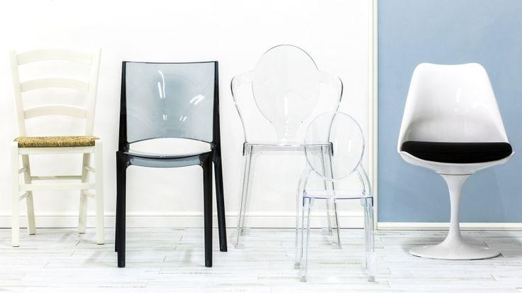 Дизайнерские прозрачные стулья | Купить на WESTWING