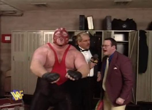 WWF / WWE Royal Rumble 1996: Jim Cornette revealed that he was Vader's new managerWWF / WWE Royal Rumble 1996: Jim Cornette revealed that he was Vader's new manager