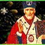 Святой Николай Чудотворец - Религия в картинках - Анимационные блестящие картинки GIF