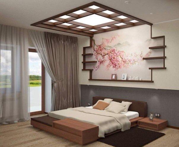 Спальная в японском стиле
