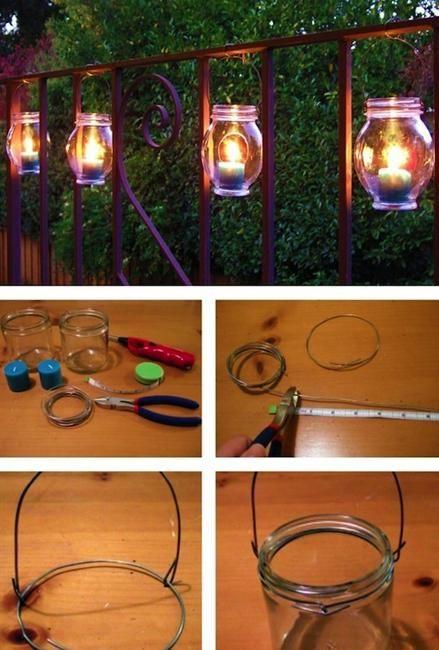 Recycling for DIY Outdoor Lights, 15 Creative Outdoor Lighting Design Ideas