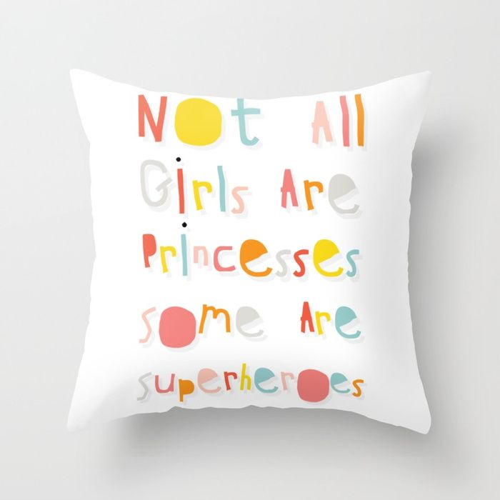 Baby girl nursery throw pillows. Super