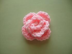 Scrap Yarn Crochet: Free Rose Crochet Pattern