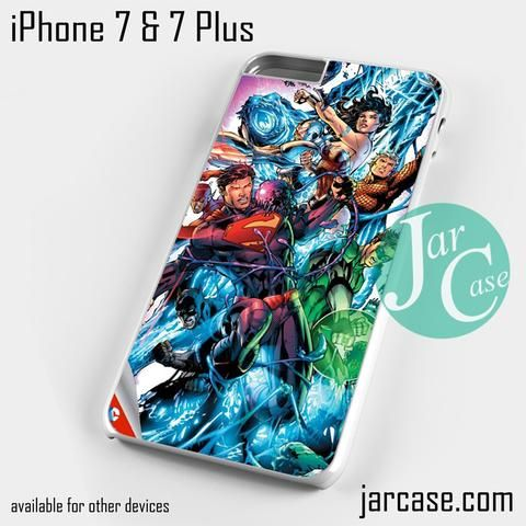 justice league comic cover Phone case for iPhone 7 and 7 Plus