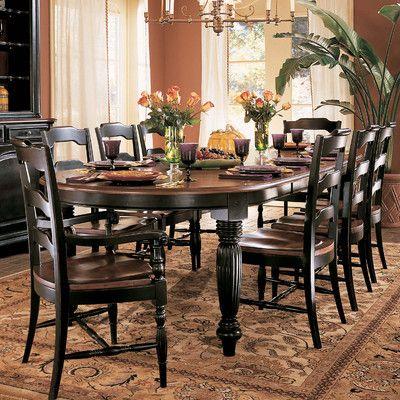 Hooker Furniture Indigo Creek Dining Table Wayfair