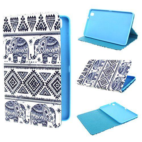 ivencase Elephants Design Portefeuille PU Cuir Stand Flip Shell Housse Coque Étui Case Cover Pour Samsung Galaxy Tab Pro 8.4 / Samsung SM-T320 ivencase http://www.amazon.fr/dp/B00MTEUKUA/ref=cm_sw_r_pi_dp_wUf9ub11665FM