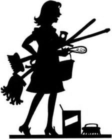 Cleaning, girl, mop, service, woman icon |Cleaning Lady Icon