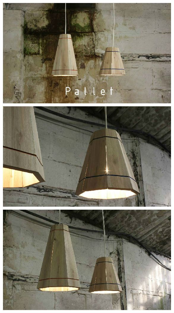 #Lampshade, #Light, #Pendant, #RecycledPallet