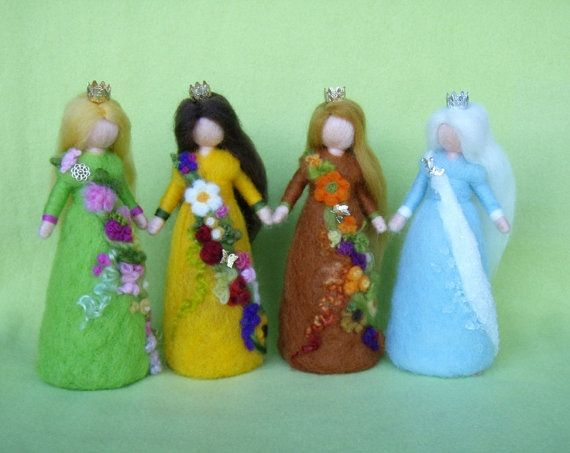 Hey, I found this really awesome Etsy listing at https://www.etsy.com/listing/189302064/needle-felted-4-seasonal-fairie-queens