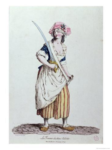 Female Sans-Culotte, circa 1789 Giclee Print at AllPosters.com