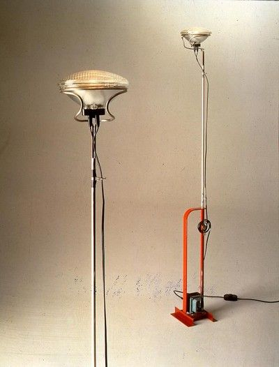 Achille Castiglioni - the Toio lamp.  Want to know more about it? Check here http://ow.ly/9J67s