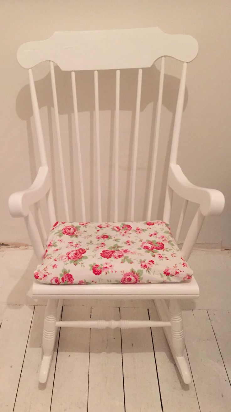 The 25+ best Rocking chair cushions ideas on Pinterest | Painted ...
