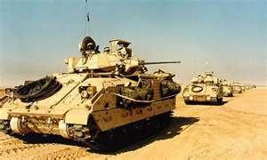 M2 Bradley infantry fighting vehicle